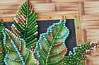 Набор-миди для вышивки бисером Попугаи лори (20 х 20 см) Абрис Арт AMB-029, фото 2