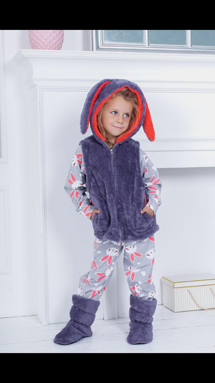 Домашний детский костюм на 6,8,10 лет