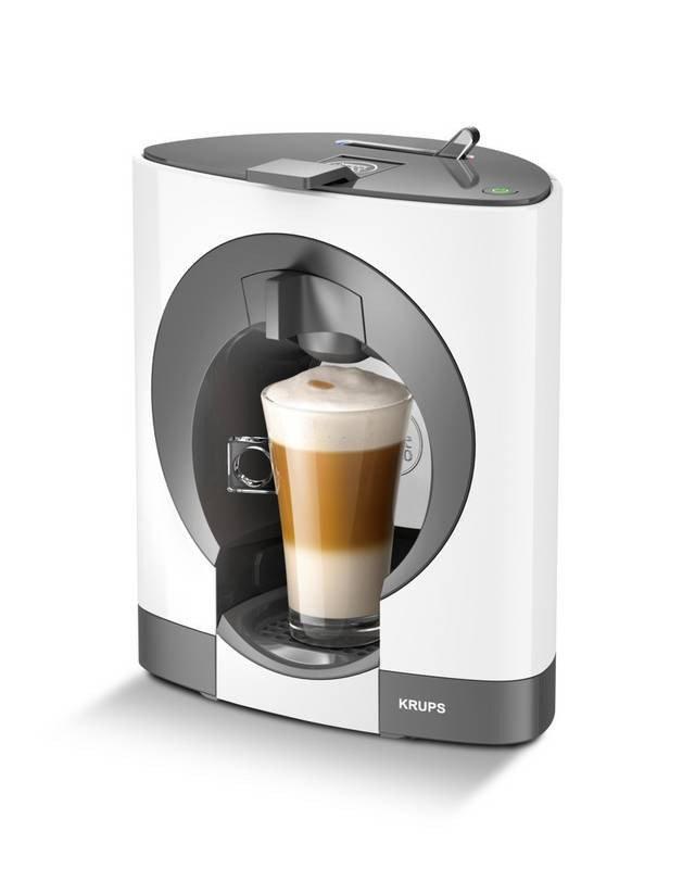 Капсульна кавоварка еспресо Krups KP 1101 NESCAFE Dolce Gusto Oblo White 1500 Вт