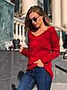В'язаний светр під шию в кольорах 547743, фото 4
