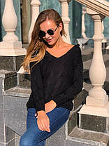 В'язаний светр під шию в кольорах 547743, фото 3