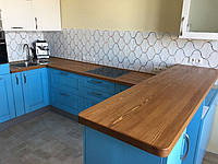 Кухонная деревянная Столешница из массива Лиственницы, фото 1