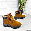 """Ботинки женские зимние коричневые """"Bobole"""" эко замша, фото 4"""