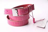 Ремень женский кожаный (Розовый) Andi, фото 1