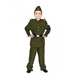 Карнавальный костюм ВОЕННЫЙ СОЛДАТ для мальчика 6,7,8,9,10,11 лет детский маскарадный костюм ВОЕННАЯ ФОРМА