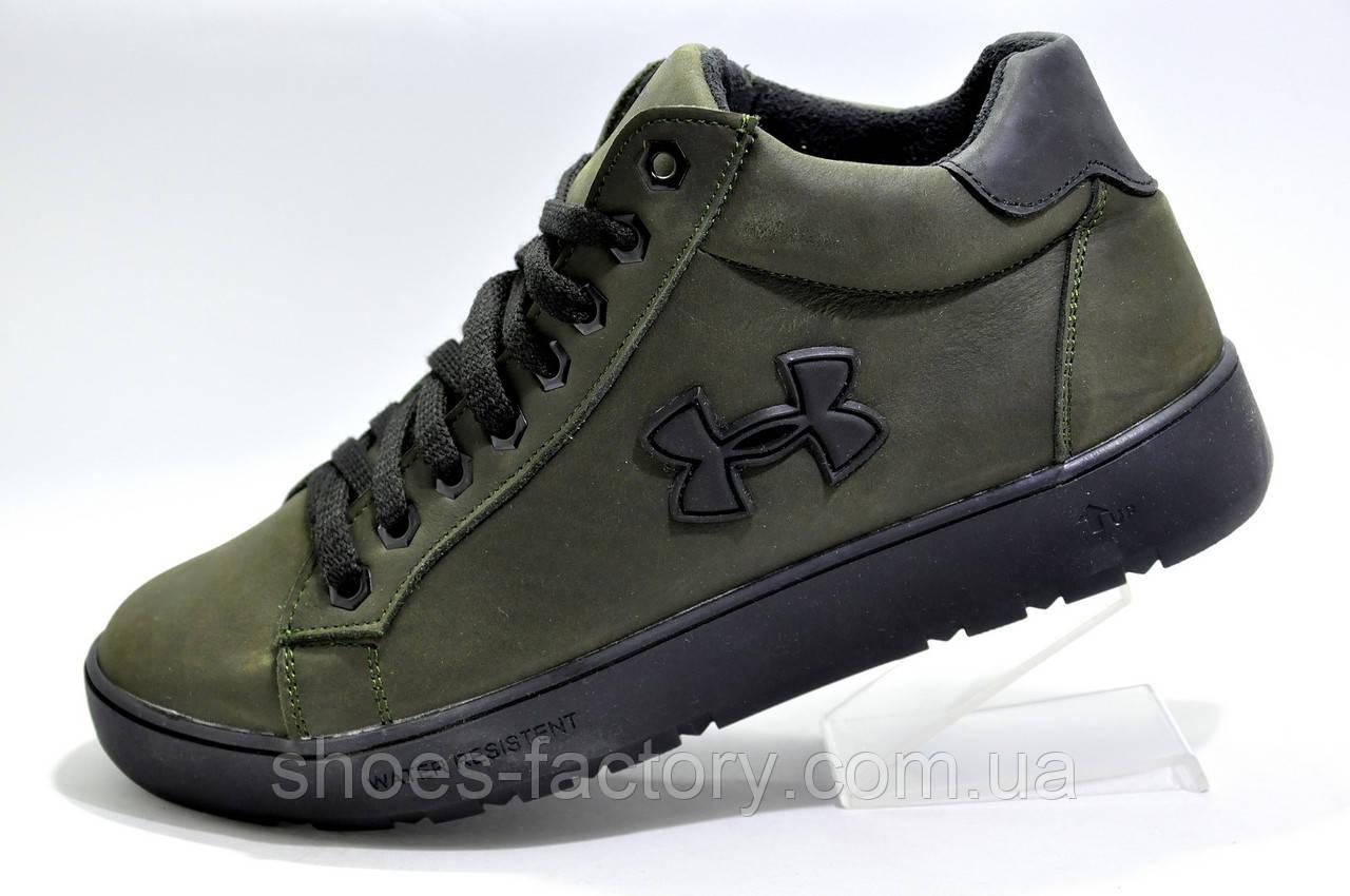 Мужские зимние ботинки в стиле Under Armour, Olive