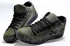 Мужские зимние ботинки в стиле Under Armour, Olive, фото 2