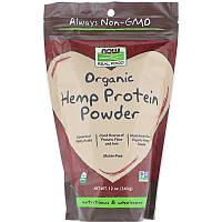 "Конопляный протеин NOW Foods, Real Food ""Organic Hemp Protein Powder"" порошок (340 г)"