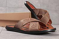 Шлепанцы мужские Reebok Sublite, коричневые (16361) размеры в наличии ► [  40 42 43 44 45  ]