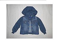 Шикарная джинсовая курточка для мальчика lupilu. размер 92.(маломерит)
