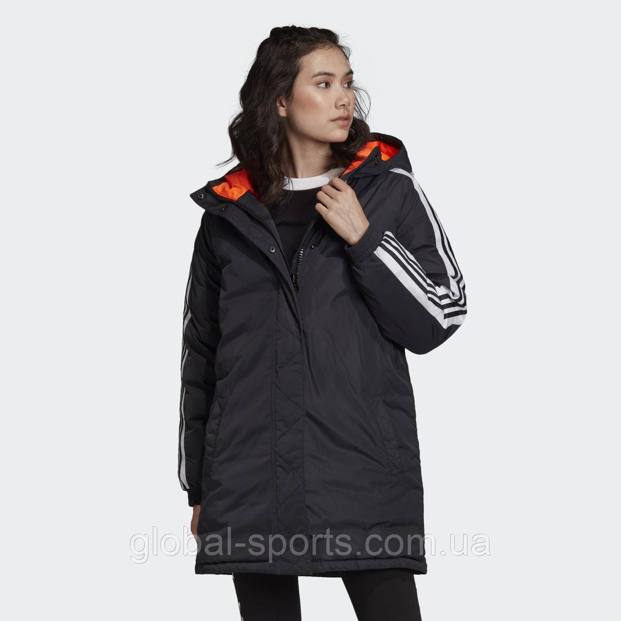 Жіноча куртка Adidas Adicolor Long W(Артикул:ED7585)