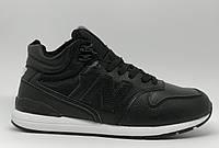 Ботинки мужские зимние New B 16077 черные реплика