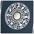 """Ежедневник А5 формата в кожаном переплете со знаком зодиака """"Весы"""", фото 3"""