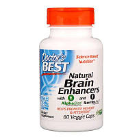 "Усилители когнитивных функций Doctor's Best ""Natural Brain Enhancers wtih AlphaSize and SerinAid"" (60 капсул)"
