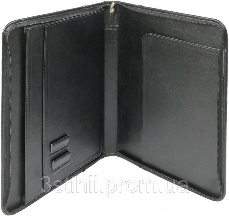Папка деловая для документов Exclusive 710600 Черная