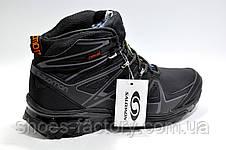 Зимние кроссовки в стиле Salomon, Black\Gray, фото 2
