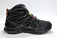 Зимние кроссовки в стиле Salomon, Black\Gray, фото 3