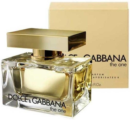 Женская парфюмированная  вода Dolce & Gabbana The One parfum - 75 мл