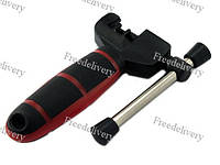 Инструмент для ремонта цепи велосипеда, выжимка