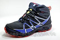Зимние кроссовки в стиле Salomon, Dark Blue, фото 2
