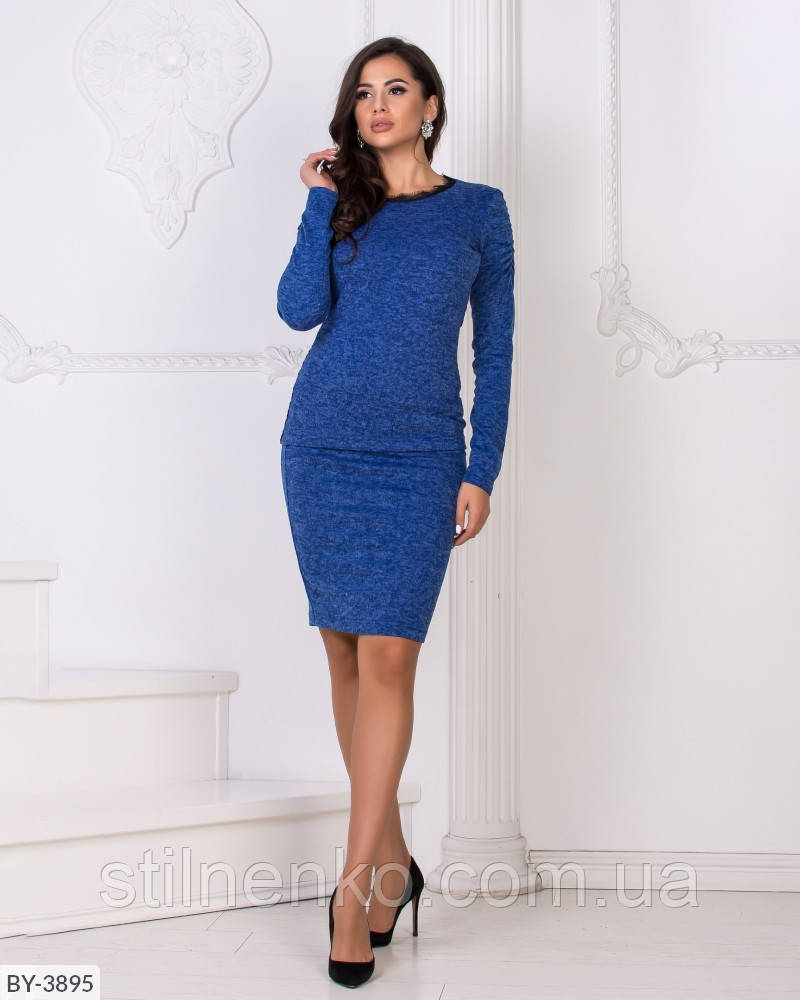 Костюм джемпер + юбка на резинке