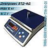 Фасовочные весы Днепровес ВТД-ФД (ВТД-6ФД)