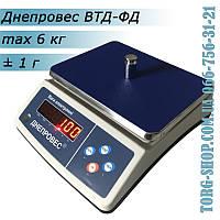 Фасовочные весы Днепровес ВТД-ФД (ВТД-6ФД), фото 1