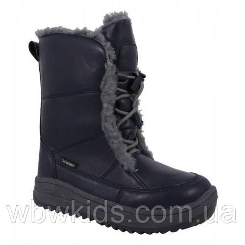 Термо ботинки зимние детские B&G R191-12195 для девочки