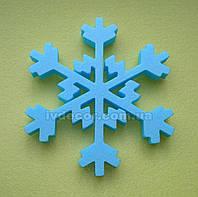 Сніжинка з пінопласту SN9-XPS. 20*1.5 см, упаковка 10 шт, фото 1