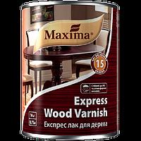 Экспресс лак для дерева полуматовый бесцветный, Maxima, 0,75 л, в Днепре