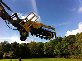 Траншеекопатель для экскаватора MH100 AGRI AFT Trenchers Limited