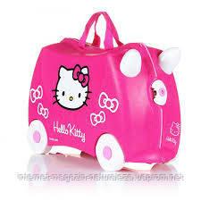 Детский чемодан Trunki Hello Kitty, фото 2