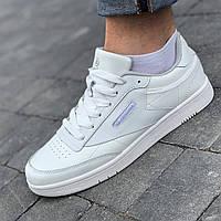 Кроссовки мужские белые (Код: Л1604)