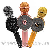 Микрофон-караоке WS-668 со встроенной колонкой, фото 2