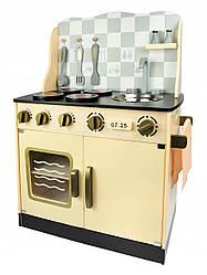 Детская деревянная кухня Vintage 102/243001 + аксессуары (9099)