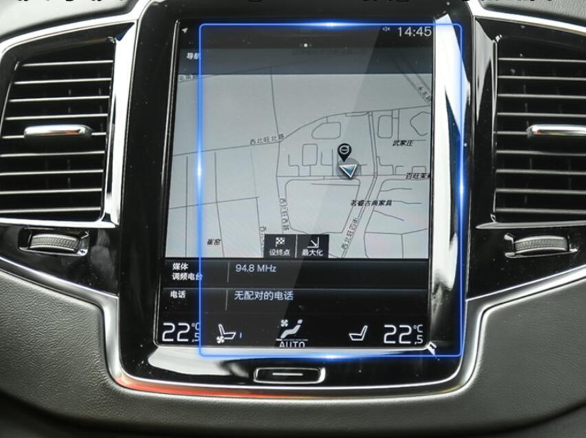 Защитное стекло для экрана мультимедиа (монитор,панель приборов) Volvo XC90 S90 V90CC XC40 XC60