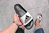 Шлепанцы мужские Adidas Equipment, черные (16293) размеры в наличии ► [  43 45  ], фото 4