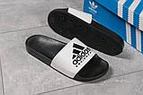Шлепанцы мужские Adidas Equipment, черные (16293) размеры в наличии ► [  43 45  ], фото 5