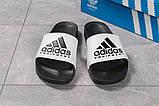 Шлепанцы мужские Adidas Equipment, черные (16293) размеры в наличии ► [  43 45  ], фото 6