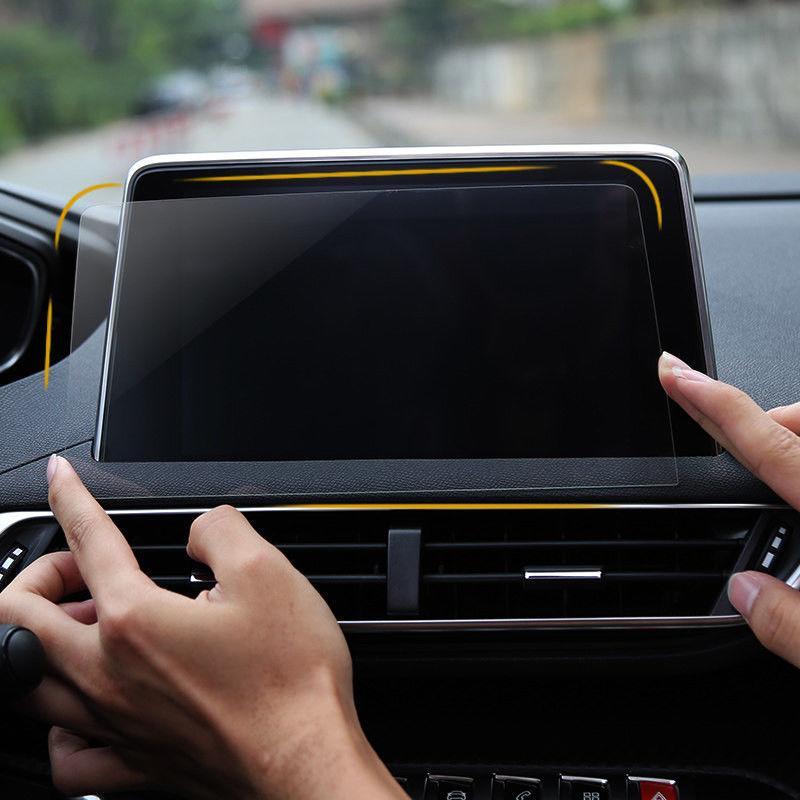 Защитное стекло для экрана мультимедиа (монитор,панель приборов) Peugeot 3008GT 408 508 208 3008 5008 4008