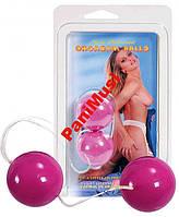 Вагинальные шарики гейши Розовые Orgasm Balls Purple Шарики гейши увеличивают оргазм