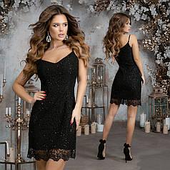 Платье нарядное на брительках в расцветках 377294