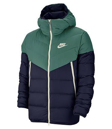 Куртка зимняя мужская Nike Sportswear Down Fill Windrunner Jacket Зеленая 928833-362, фото 2