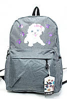 """Рюкзак детский  для девочки, размер 45*30*15 см (6 цв.) """"JINMAN""""недорого от прямого поставщика"""