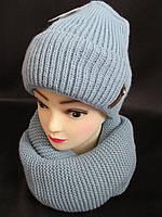 Набор для женщин шапка и хомут, фото 1