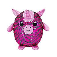 М'яка іграшка з паєтками SHIMMEEZ S3 - ЄДИНОРІГ Кайлі (36 cm)