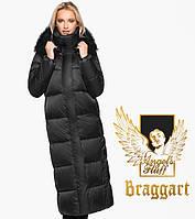 Воздуховик Braggart Angel's Fluff 31072   Женская теплая куртка черная, фото 1