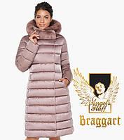 Воздуховик Braggart Angel's Fluff 31094 | Куртка женская на зиму пудра, фото 1