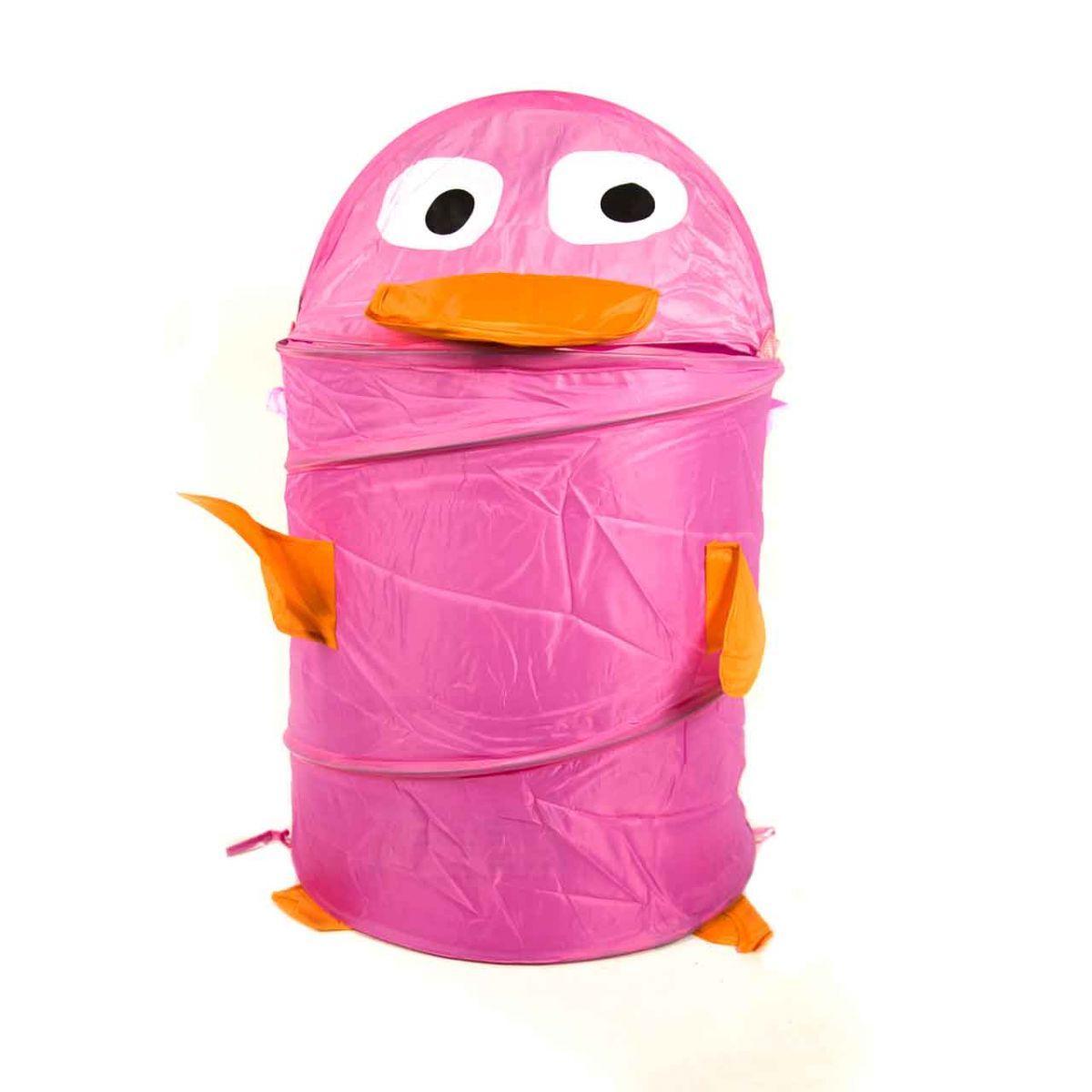 Корзина для игрушек  (розовый)