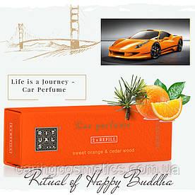 "Rituals. Автопарфюм ""Happy Buddha"". Сменный картридж. Производство Нидерланды"